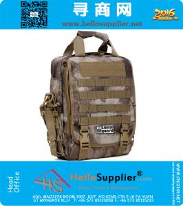 1000D Molle Tactical 14 Inch Laptop Notebook Hand Shoulder Backpack army military messenger Computer Camouflage bag 3 in 1