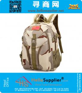 Camping bags,Waterproof Molle Backpack Military 3P Gym School Trekking Ripstop Woodland Tactical Gear for men Drop