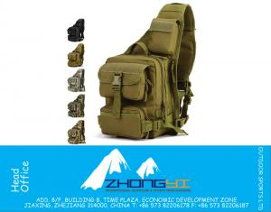 MOLLE System Single Shoulder Sling Chest Bag Hunting Heavy Duty Carrier tactical Sport Survival Military Carry Bag